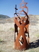 - artwork Why_in_the_Name_of_the_Same_God-1321339050.jpg - 2009, Sculpture Steel, Figurative