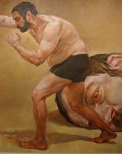 - artwork UFC_David_vs_Goliath-1325107000.jpg - 2011, Painting Oil, undecided