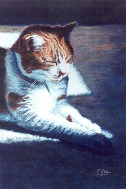 Kay Ridge  'Kitty Bliss III', created in 2003, Original Reproduction.