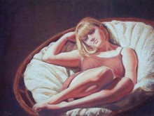 - artwork Reverie-1251500518.jpg - 2009, Pastel, Figurative