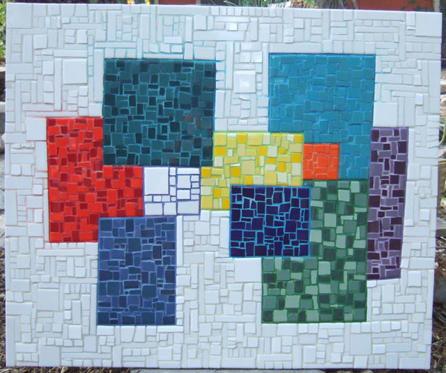 Kris Paul  'Outside The Box', created in 2004, Original Mosaic.