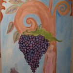 Grapes from the Garden By Ksenija Pecaric