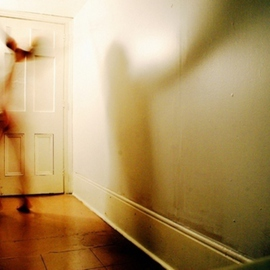 Kathy Slamen: 'Le papillon', 2007 Color Photograph, Ethereal. Artist Description:   Self portrait  ...