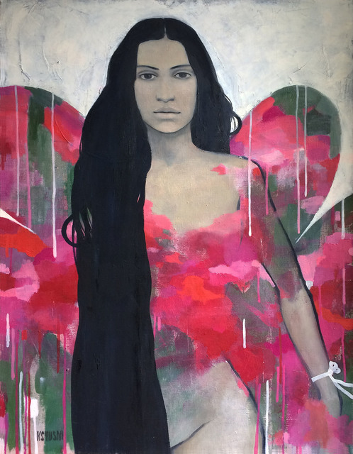 Kseniya Berestova  'New Perfume For You', created in 2014, Original Painting Oil.
