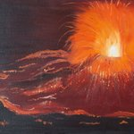 Volcanique eruption By Claudia Luethi Alias Abdelghafar