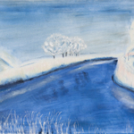 landscape in winter By Claudia Luethi Alias Abdelghafar