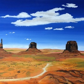 monument valley  By Claudia Luethi Alias Abdelghafar