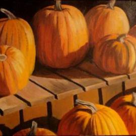 Kylie Fair Artwork Gifts of Fall , 2008 Acrylic Painting, Still Life