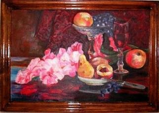 Irina Ladutko: 'STILL LIFE', 2005 Oil Painting, Still Life.