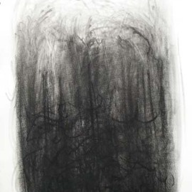 Lalit Pant Artwork nature2, 2008 Charcoal Drawing, Nature