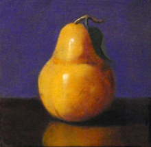 - artwork Pear-1336148521.jpg - 2010, Painting Oil, Still Life