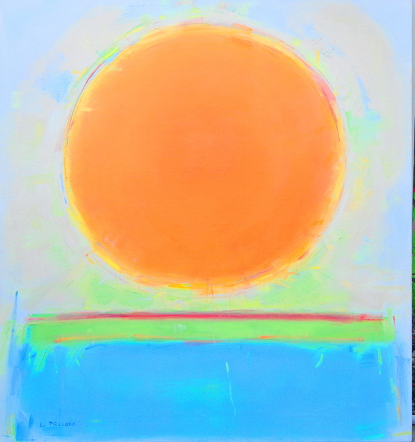 Lana Picciano  'Copper Sun', created in 2016, Original Printmaking Giclee.