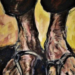 , Poverty Feet, Expressionism, Sold