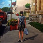 Shopping on Main Street By Christine Montague