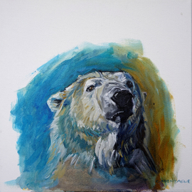polar bear portrait study 3