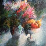 Painting Sweet summer taste By Larysa Uvarova