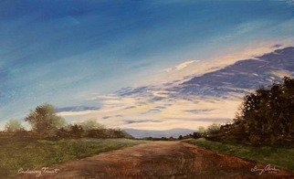 Landscape Acrylic Painting by Larry Clark Title: Enduring Trust, created in 2010