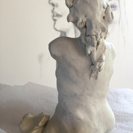 Luise Andersen Artwork 2016 March 16 To Sculpt The Feel II, 2016 Clay Sculpture, Abstract