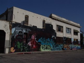 Color Photograph by Luise Andersen titled: ART OF Graffiti In LA IV, created in 2009