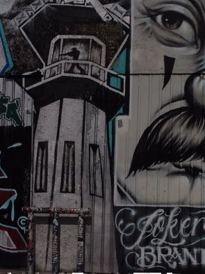 Color Photograph by Luise Andersen titled: ART OF Graffity In LA III, created in 2009