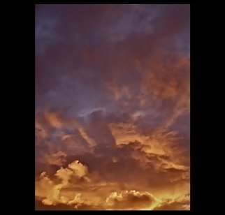 Luise Andersen Artwork After Pouring Rain Followed Sunset II, 2012 Color Photograph, Sky