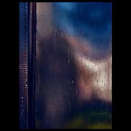 Luise Andersen Artwork BUS STOP II, 2013 Color Photograph, Abstract