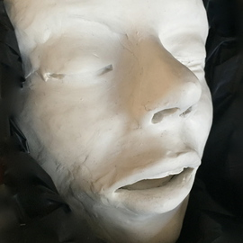 Luise Andersen Artwork Beautiful in feel expression VI JUNE 15 2015, 2015 Clay Sculpture, Expressionism