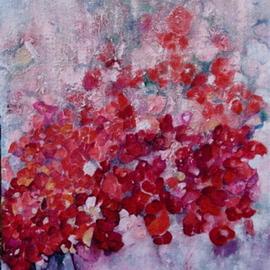 Bouquet In OiL Untitled  In Progress