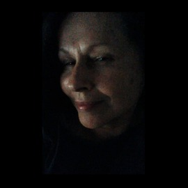 Luise Andersen: 'CloseInOn MIGNON c  VII ', 2014 Color Photograph, People. Artist Description:   August 2014- -  . . from video I have now a whole series of expressions. . spit moments. . not even seconds of expressions. . like blink of eye. truly so. . when we look each other in the face. . which expression are we going to observe. . 'catch' . . which makes us remember of the' other' ...
