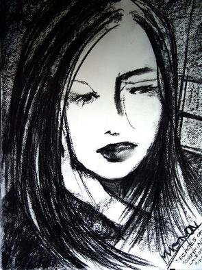 Luise Andersen Artwork Echoes Of Something, 2005 Charcoal Drawing, Other