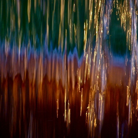 Luise Andersen Artwork Fontana Fountain SUNSET AGLOW I, 2013 Color Photograph, Abstract