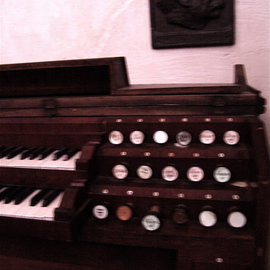 GERMANY  St Katharinens Church OLD ORGANAnd The One Who Loved To Play It