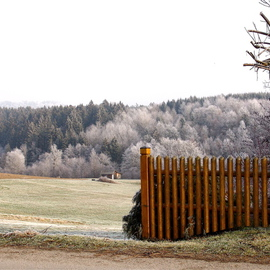 GERMAN Travels  Passau Area   FLUTE FENCE