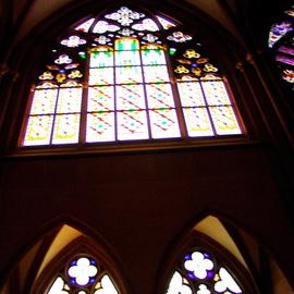Germany oppenheim Enter St Katharinens Gothic Style Church