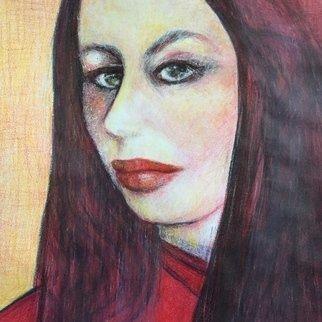 Luise Andersen Artwork JULY 15 2015 strength in transparent layering I, 2015 JULY 15 2015 strength in transparent layering I, Portrait