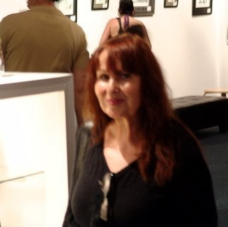 Color Photograph by Luise Andersen titled: Luise Andersen at Opening Of The Koehler Gallery, created in 2009