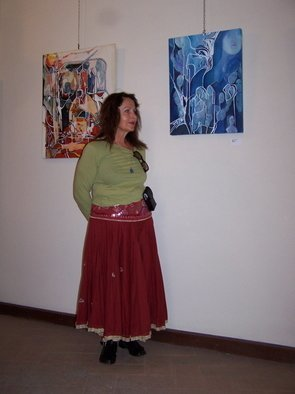 Luise Andersen Artwork MIGNON IN FRONT OF MELANCHOLIE AND WITHIN SELF PAINTINGS, 2006 MIGNON IN FRONT OF MELANCHOLIE AND WITHIN SELF PAINTINGS, Other