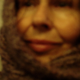 Luise Andersen Artwork Mignon COMING IN FROM THE RAIN JanTwoOTen, 2009 Color Photograph, Famous People