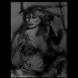 Mignon Extreme Series CHARCOAL ART DOODLE II