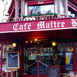 Paris Series  CAFE MAITRE