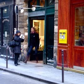 Paris Series  Streets Of Paris Window Shopping