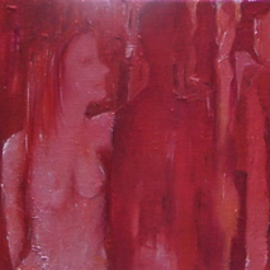 Luise Andersen Artwork RED In Progress Update Feb TwFr, 2008 Oil Painting, Surrealism