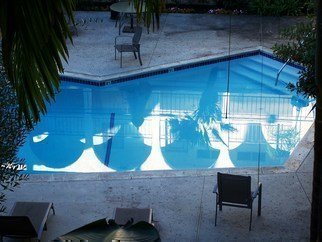 Luise Andersen Artwork REFLECTION in the pool I, 2010 Color Photograph, Other