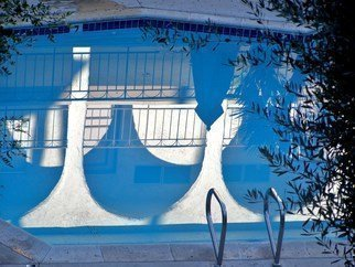 Luise Andersen Artwork REFLECTION in the pool II OV, 2010 Color Photograph, Other