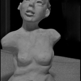 Luise Andersen Artwork SCULPTURES IN SEPTEMBER 2015, 2015 Clay Sculpture, Abstract