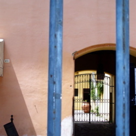STREET VIEW TO CESI PALACE COURTYARD GATE