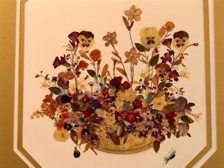 Collage by Luise Andersen titled: Spring Bouquet, created in 2002