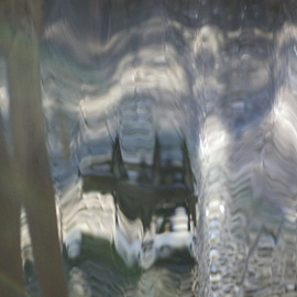 Luise Andersen Artwork UNDER THE SPELL VIII of Light Water Movement, 2013 Color Photograph, Abstract