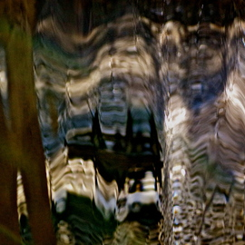 Luise Andersen Artwork UnDER THE SPELL MIG VIII of Light Water Movement, 2013 Color Photograph, Abstract