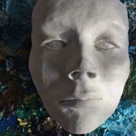 Luise Andersen: 'dearling s faces IIIA MAY 5 2015', 2015 Clay Sculpture, Abstract. Artist Description:  May 5, 2015- needed to express more. . other face served its purpose . . expressed different feel. . since gone now. . 'it' went too. . so this is today' s feel. . created with the head/ visage expression of prior sculpted head. .mout / lips other. . eyes. . cheek bones. . worked it all. . and do ...